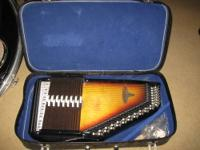 Here's a nice, vintage Chromaharp auto harp that was