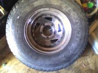 I have 5 Matching chrome rims that are 15 inch 5 lug .