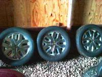 Set of four. 19 inch lexani rims. Multiple fit. Rims