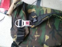 Hey craigs up for sale is a chrome bag.in camoflauge,