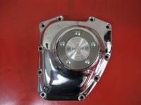 CHROME CAM COVER HARLEY TWIN CAM 25369-01B This