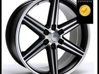 All chrome and Black Iroc Wheel with Machine and you