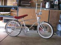i have a very nice lowrider bike all chrome it has a