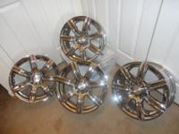 "Selling 4 Motorsport MB Alpina Chrome 16"" Rims, please"