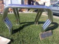 I HAVE A TRIPLE/DOUBLE CHROME ROLL BAR I WANT $350 IF