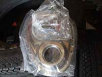 hi, you are looking a brand new chrome sbc timing cover