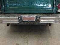I have a chrome step bumper. It is currently on a Chevy