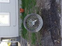 4 tru spoke rims fair condition little surface