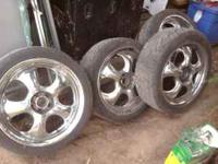"Came off 2000 Audi TT aftermarket 5x100 18"" I have the"