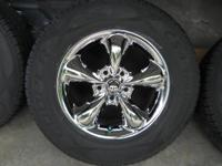 Four Chrome wheels and((((( Cooper tires CS4 Touring