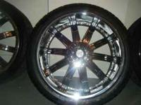 ". I have a set of monster 24"" Divinity 2010 D12 Chrome"