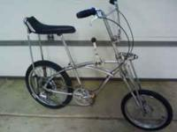 Chrome Stingray 5-speed ,( rare front & rear atom drum