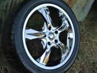 "Baccarat Kologne 18"" with tires 245/45/18 ready to"