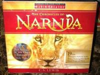 Chronicles of Narnia audiobook set for sale-- used