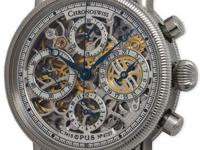 Chronoswiss Stainless Steel Opus Automatic Skeletonized