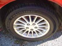 Set of 4 Aluminum rims and 225/60/16 tires off an 02