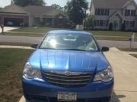 2007 Marathon Blue Pearl Chrysler Sebring for Sale. See