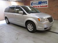 2010 Chrysler Town & Country Touring, BRIGHT SILVER