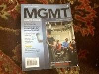 Chuck Williams MGMT 6 student edition like new