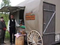 The Chuckwagon is a 12' fully-equipped concession