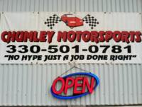 At Chumley Motorsports you acquire your motor vehicle