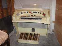 This is A nice church organ. The buyer is respostbelity