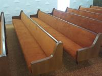 We are renovating our building and are selling the pews