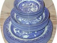 "I have for sale some Churchill ""Blue Willow"" dishes 6"