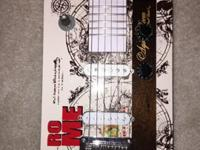 Electric 6 string Cigar Box Guitar. Tele style bridge.
