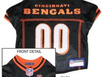 Cincinnati Bengals Dog Jersey Show support for the