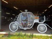 Brand New Cinderella Wedding Carriage. Extremely