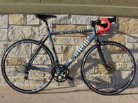 Available for sale is a prestine cinelli unica