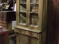 This Elegant Old Kitchen Cupboard/Server was a Top of