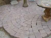 Circle pack paver kits Can create a 9 ft by 6 inch