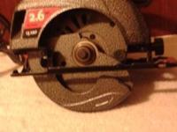 "Skilsaw Circular Saw - 7 1/4"" very nice! Max Motor - 13"