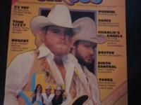 Circus Magazine December 30th, 1976 issue . ZZ Top,