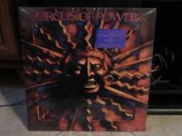 Circus Of Power - original 1988 debut vinyl with Hype