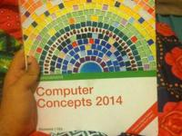 CIS Book 120: Computer Concepts 2014  Selling for $25