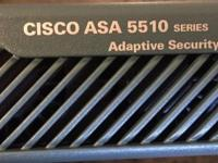 Cisco ASA 5510 adaptive security appliance is