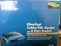 The Linksys Instant Broadband EtherFast Cable/DSL