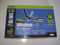 Product Description The Linksys Wireless-G PCI Adapter