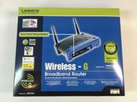 LIKE NEW Cisco-Linksys WRT54G Wireless-G Router Kit -