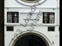 Cissell stack Dryer STK30 120v 60 HZ Almond. Cost: