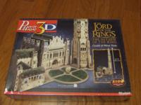 Citadel of Minas Tirith Lord of The Rings 3D Jigsaw