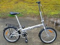 Local folding bike available. I purchased this a while