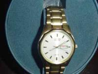 Selling a gold Citizen Echo Drive watch that I bought
