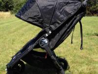 Gently used, single seater stroller that folds by