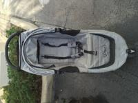 Gently used, single seater stroller that folds easily