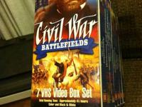 VHS 7 battlefields, 7 tapes. Cash only please, no