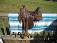 My Great Great Uncle John rode in this saddle during